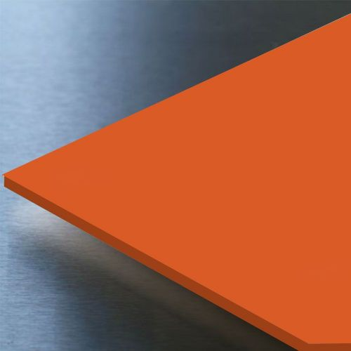 Hygienic Wall Cladding  Orange 10ft x 4ft